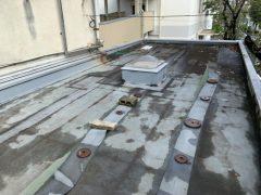 所沢市 某マンション 廊下側溝防水工事